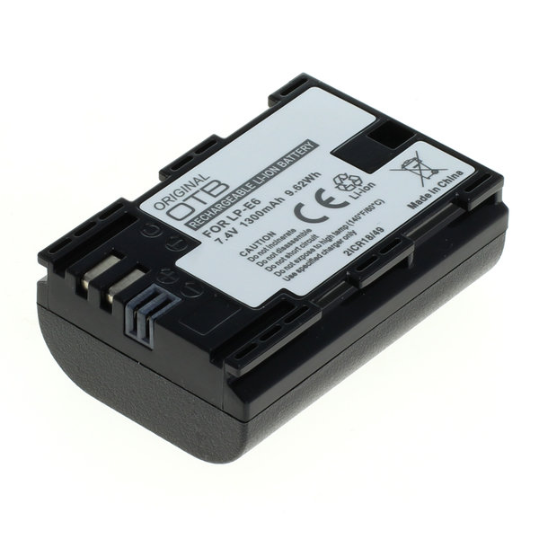 OTB Akku kompatibel zu Canon LP-E6 / LP-E6N Li-Ion 7.4 Volt