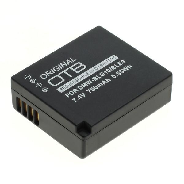 OTB Akku kompatibel zu Panasonic DMW-BLG10 / DMW-BLE9 Li-Ion 7.4 Volt