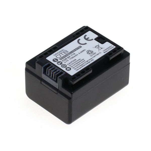 OTB Akku kompatibel zu Canon BP-718 Li-Ion 3.7 Volt