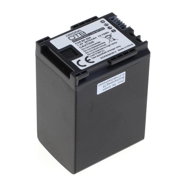 OTB Akku kompatibel zu Canon BP-828 / BP-827 7.2 Volt