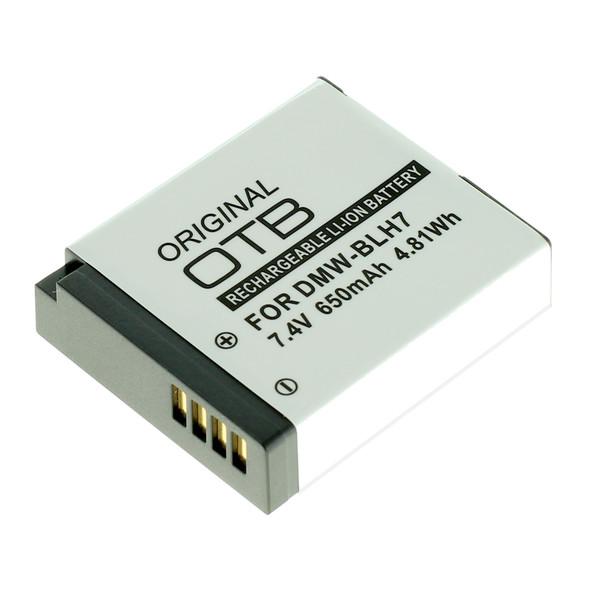 OTB Akku kompatibel zu Panasonic DMW-BLH7 7.4 Volt