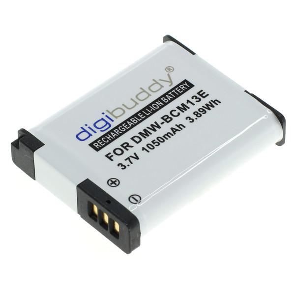 digibuddy Akku kompatibel zu Panasonic DMW-BCM13 Li-Ion 3.7 Volt