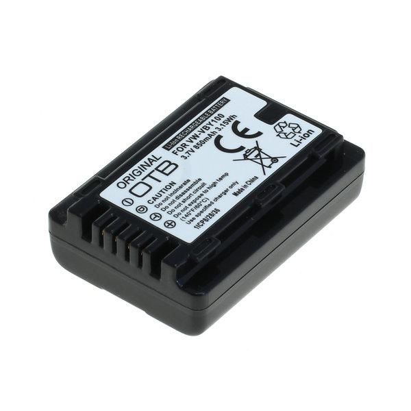 OTB Akku kompatibel zu Panasonic VW-VBY100 Li-Ion 3.7 Volt