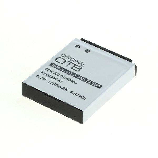 OTB Akku kompatibel zu Actionpro X7 / Isaw A1/A2Ace/A3/ Extreme Li-Ion 3.7 Volt