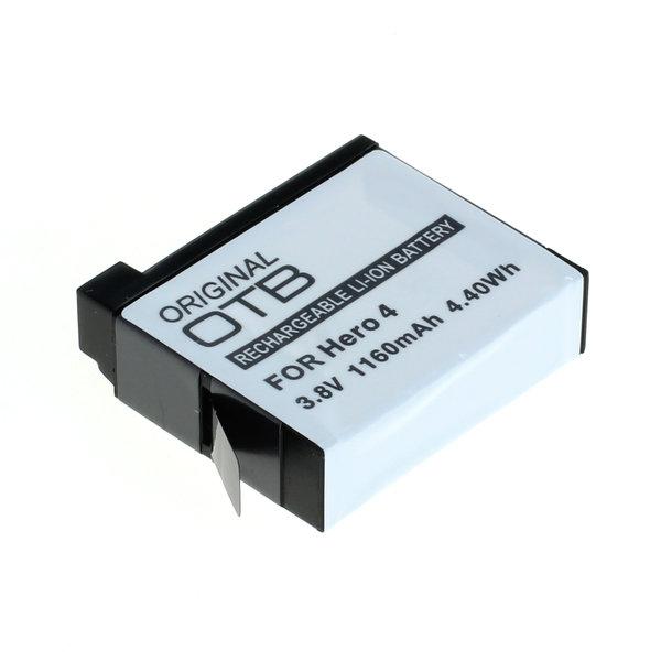 OTB Akku kompatibel zu GoPro Hero4 Li-Ion 3.8 Volt