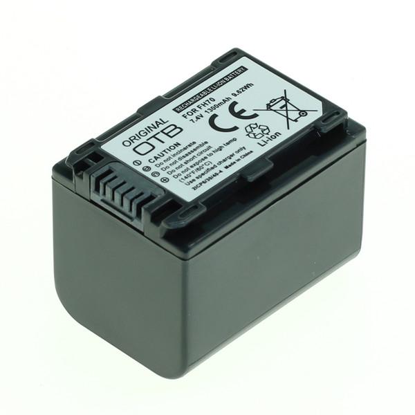 OTB Akku kompatibel zu Sony NP-FH70 / NP-FP70 Li-Ion - 1300mAh 7.4 Volt