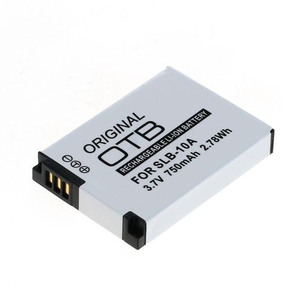 OTB Akku kompatibel zu Samsung SLB-10A / JVC BN-VH105 Li-Ion - 750mAh 3.7 Volt