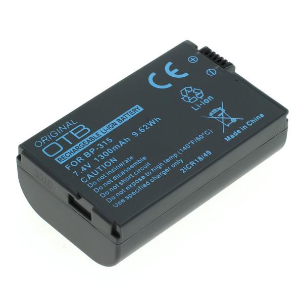 OTB Akku kompatibel zu Canon BP-315 Li-Ion 7.4 Volt
