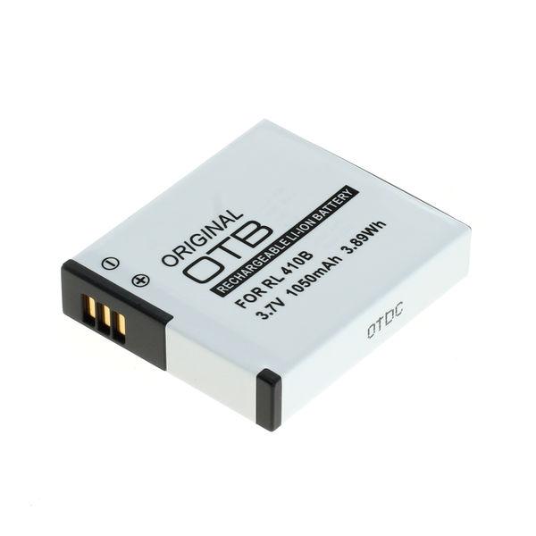 OTB Akku kompatibel zu Rollei AC230/240/400/410 Li-Ion 3.7 Volt