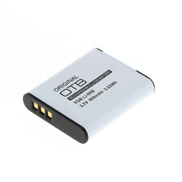 OTB Akku kompatibel zu Olympus LI-90B / LI-92B Li-Ion 3.7 Volt