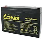Long WP12-6S Blei Akku 6 Volt